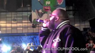 "Rick Ross - "" Aston Martin Music"" Live via Sneaker Pimps NYC 2010 (Best Quality)"