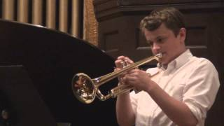 Jasper trumpet recital June 2013