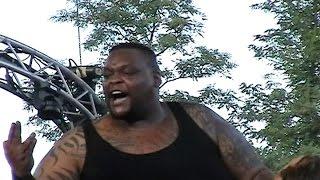 Big Daddy V destroys three young wrestlers!!! Mabel/Viscera unleashed!!!