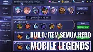 Set gear/Build/item hero mobile legends yang harus kamu ketahui Rizal Pratama | Mobile legends