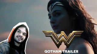 Wonder Woman Gotham TV Spot Reaction - Reação Mulher Maravilha