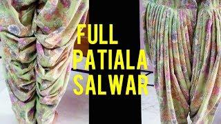 patiala sahi salwar cutting and stitching in hindi width=