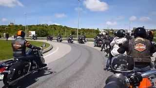 Harley Freedom Day 25 Abril 2014 - Óbidos Portugal