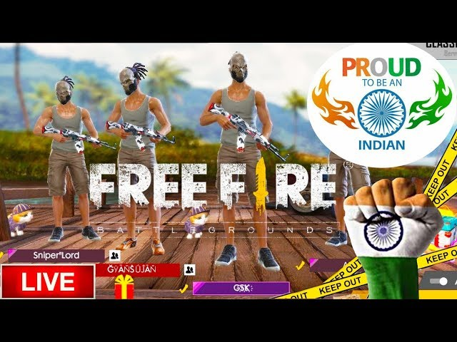 Download thumbnail for Garena Free Fire Live INDIA RANKED MATCH