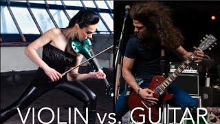 Guitar vs. Violin - Always (AySel & Arash Rock Cover - Adrian Sinner Rus & Cristina Kiseleff)