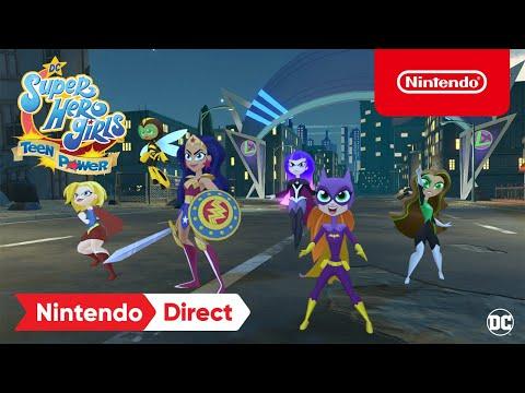 WTFF::: Nintendo announces DC Super Hero Girls: Teen Power for Switch