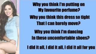 Fifth Harmony  Reflection Lyrics