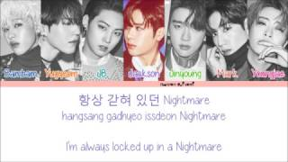 GOT7 - OUT Color Coded Lyrics (Han/Rom/Eng)