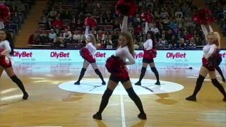 BK Jelgava Cheerleaders / Pussycat dolls - When I Grow Up / 2016