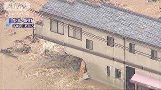 土砂崩れ、生き埋め・・・通報相次ぐ 広島の被害拡大(18/07/07)