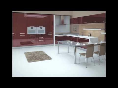 2013 Model Ankastre Mutfak Dolapları Modelleri