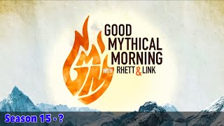 Every Good Mythical Morning Intro - Seasons 1 - 15 - January 2019