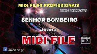 ♬ Midi file  - SENHOR BOMBEIRO - Joana