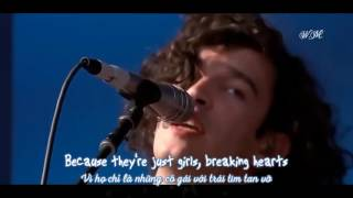 [Lyrics+Vietsub] The 1975 - Girls (live)