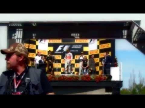 F1 GP CANADA  2012  3.er LUGAR CHECO PEREZ