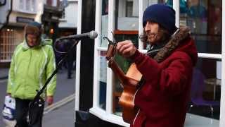 Sunday Morning Acoustic Cover - York Busker - Toby