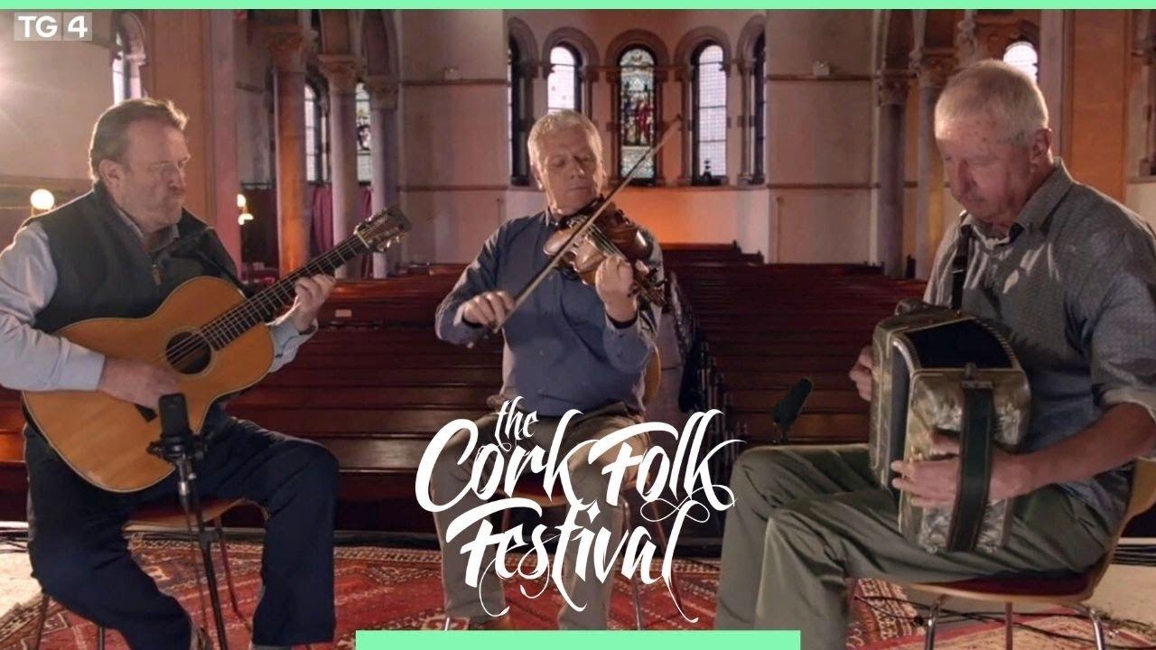 Four Star Trio perform at the Cork Folk Festival