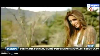Anahí estrena video con Julion Alvarez (1N)