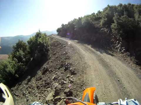 KTM Trail ride, Atlas Morocco