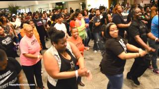 FLASHIN Line Dance @ Sunday Brunch Champagne Rm Baltimore MD Hosted by: AJ Dease  3/29/15