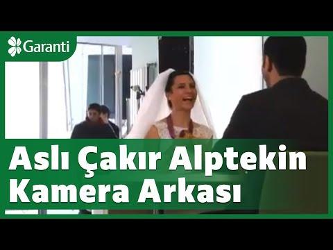 Olimpiyat şampiyonu Aslı Çakır Alptekin ile Garanti reklam filminin kamera arkası