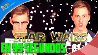 Star Wars in 99 Seconds | Subtitulado Español