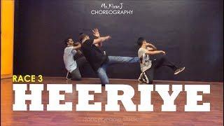 Heeriye | Race 3 | Kiran J | DancePeople Studios