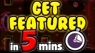 HOW to BUILD a FEATURED LEVEL in 5 MINUTES