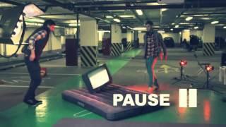 DJ M E G  ft SEREBRO 'УГАР' BACKSTAGE!