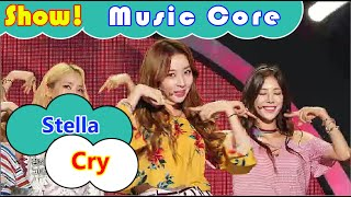 [Comeback Stage] Stellar - Cry, 스텔라 - 펑펑 울었어 Show Music core 20160723