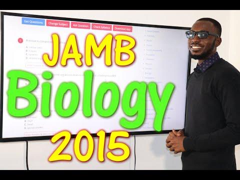 JAMB CBT Biology 2015 Past Questions 1 - 20