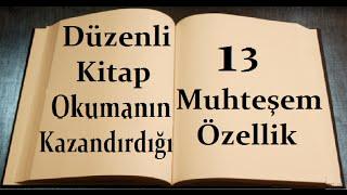 Kitap Okumanın Kazandırdıkları, 13 Muhteşem Özellik