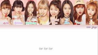 OH MY GIRL (오마이걸) – Liar Liar Lyrics (Han | Rom | Eng | Color Coded)
