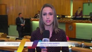 MANHÃ TOTAL -  Contratos sem licitação: Vereadores da oposição questionam prefeito