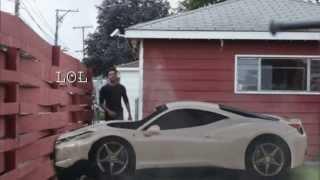 GTA IV Crash in Real - Green Screen Car Crash! HD