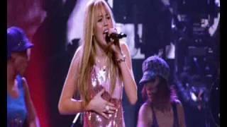Hannah Montana\Meet Miley Cyrus - I've Got Nerve live Best of Both Worlds Concert HQ HD