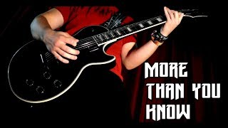 More Than You Know   Axwell Ingrosso   Metal Cover by JGD