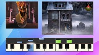 Gorillaz - Saturnz Barz (Spirit House) - Piano Tutorial - (Synthesia) by Ronalds Gigelis
