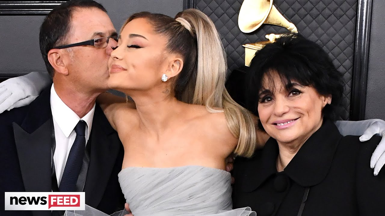 Ariana Grande & both Parents attend 62nd Grammy Awards!