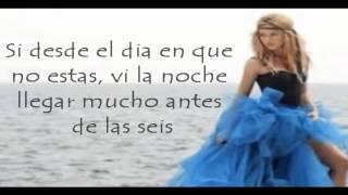 Shakira Antes de las seis LETRA