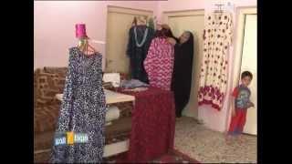 الخياطة ام فريد من الكوت - خيوط الخير ليوم 3-4-2013