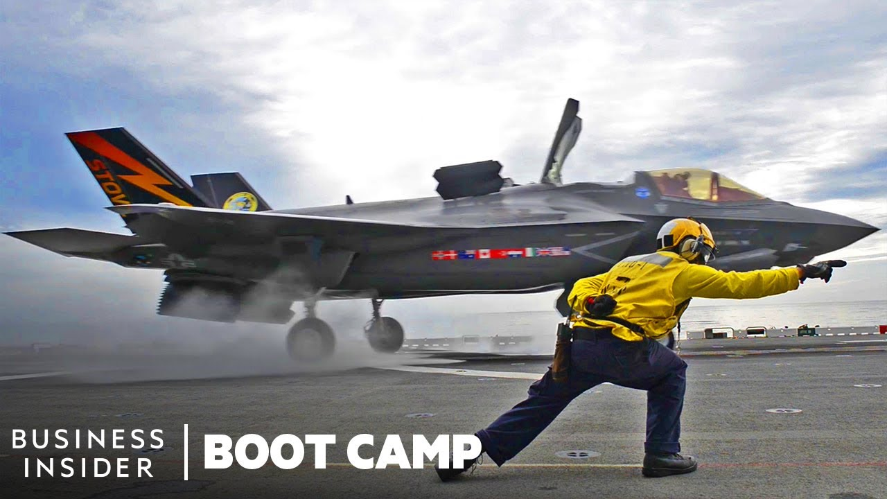 How Fighter Pilots Train To Fly The Marine Corps' F-35B | Boot Camp