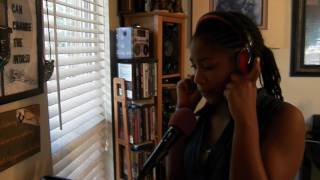 Zhane doing a cover of one call away