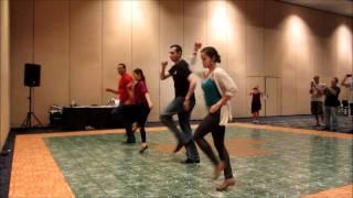 Latin Dance Live 2012 - Salsa y Control with Alien Ramirez & Magna Gopal