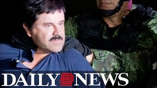 Drug lord 'El Chapo' headed to New York jail after he's extradited from Mexico