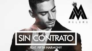 Maluma - ( Sin Contrato Cover Audio ) ft  Fifth Harmony