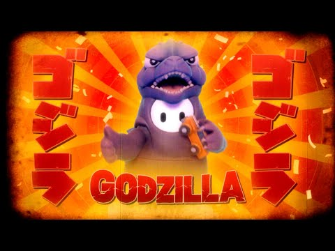 WTFF::: Fall Guys Now Has a Godzilla Costume