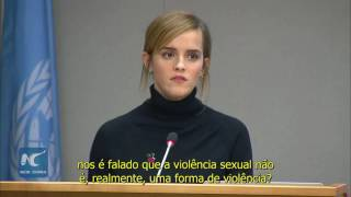 [LEGENDADO] Discurso completo de Emma Watson na universidade Parity Report