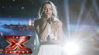 Louisa Johnson lets go with James Bay track | Live Week 4 | The X Factor 2015
