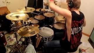 Infant Annihilator - Decapitation Fornication Drum cover By Adam Björk